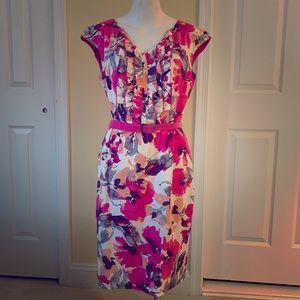 Adrianne Patel floral dress
